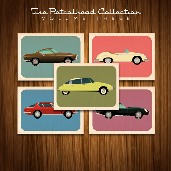 Petrolhead Postcards Volume 3 by handdrawncreative