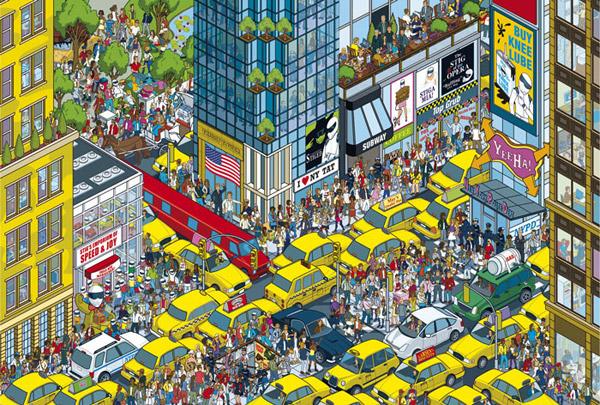 New York - Where's Stig? by Rod Hunt