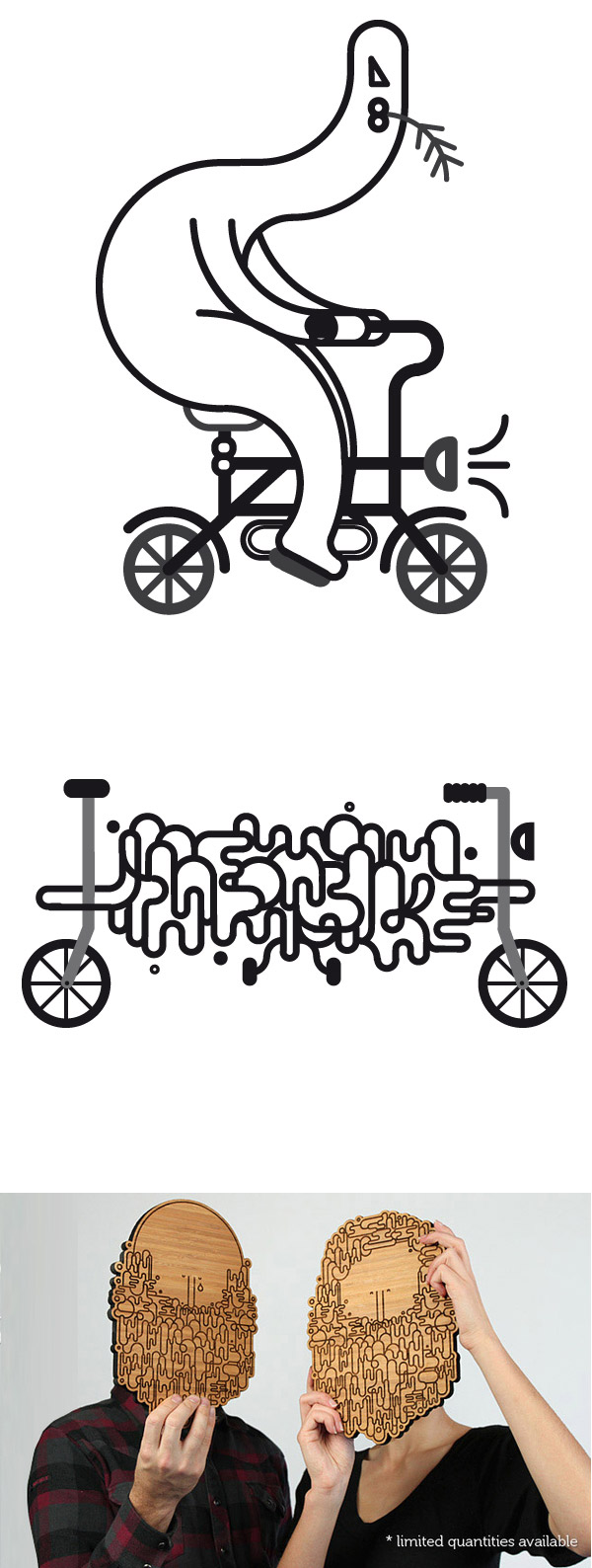 line on bike and more by Jonathan Calugi