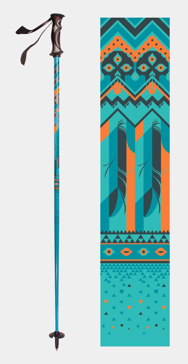 Joystick Ski Pole by Eli Horn