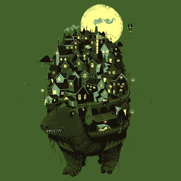 Schildkröte city by Puhl