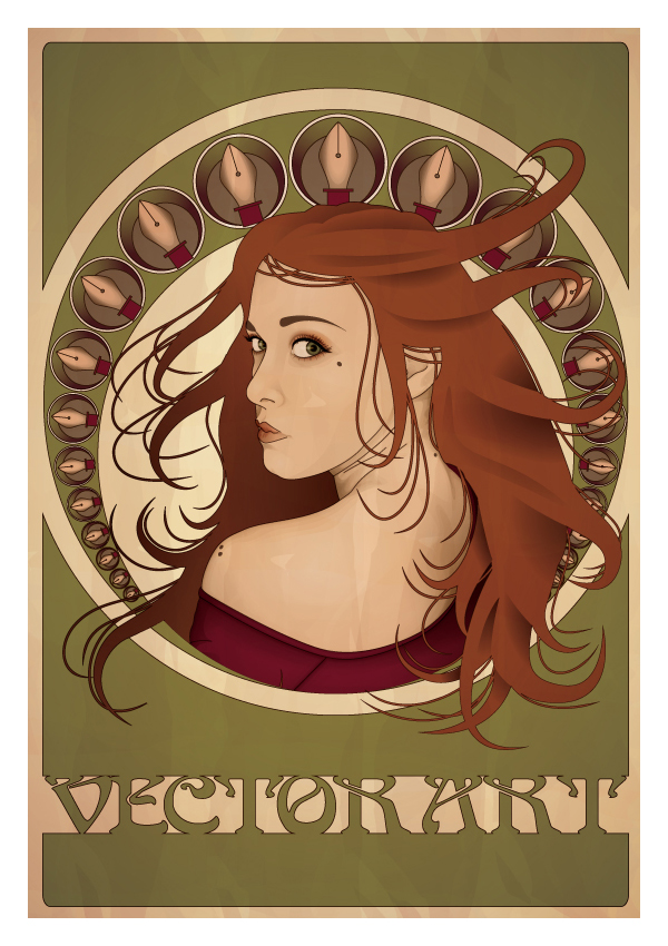 A Tribute to Mucha by ChewedKandi