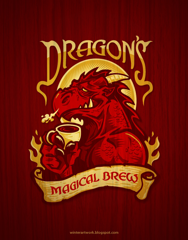 Dragon's Brew by Winter-artwork
