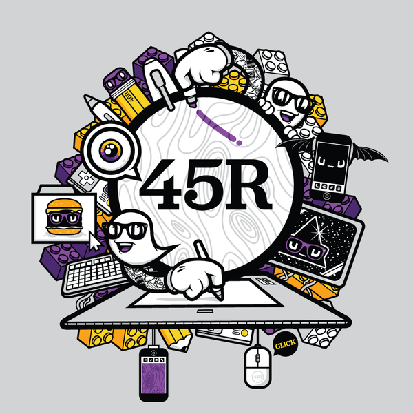 45Royale Promo Tees by Jared Nickerson