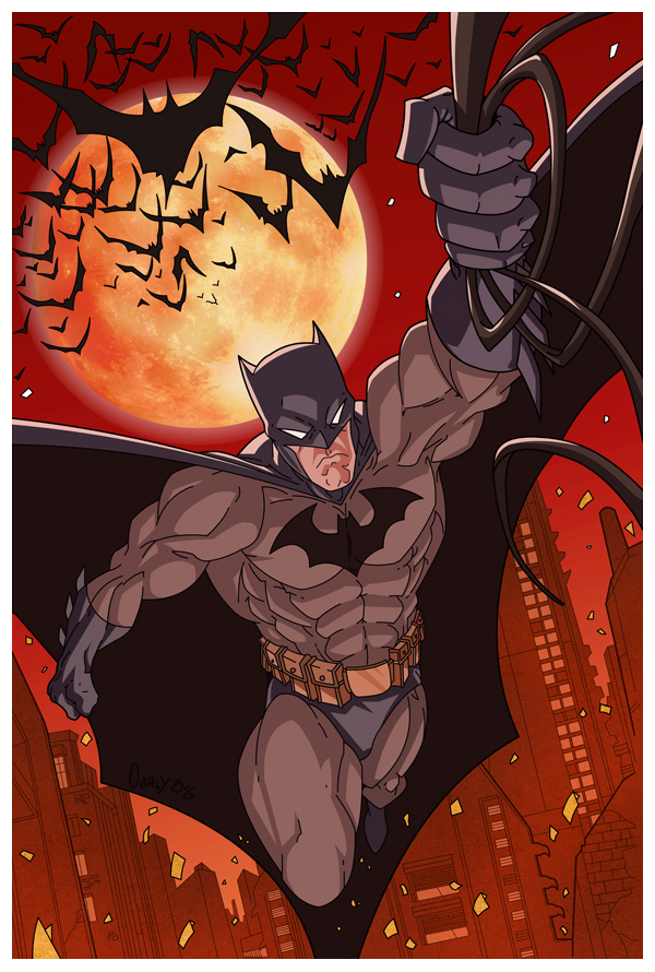 Batman by Doaly<
