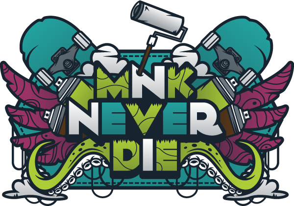 Mnk Never Die by Mnk Crew