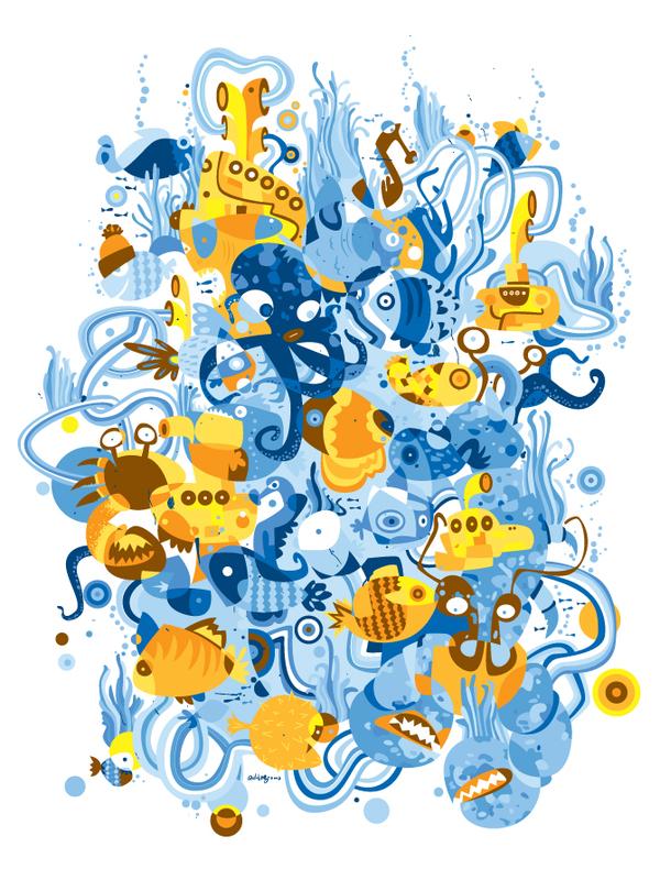 Yellow Submarines by Bruno Santinho