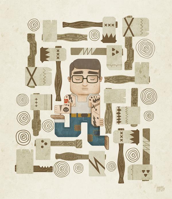 Estos son mis brazos by David García