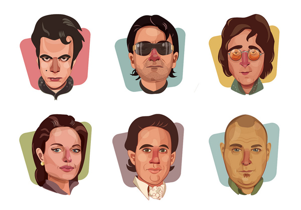 Some famous people by OAK