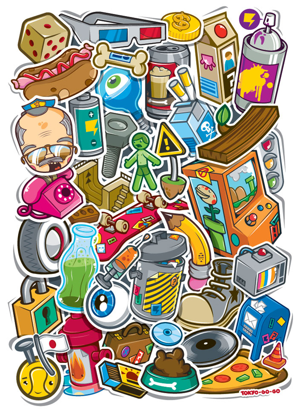 CityStickers by tokyo-go-go