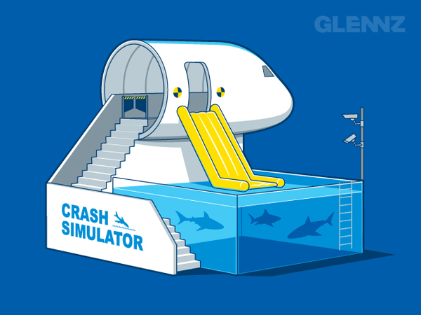 Crash Simulator by By Glennz Tees