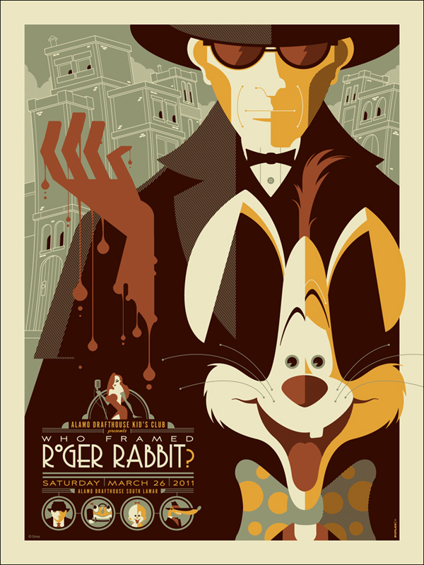 Who Framed Roger Rabbit by Tom Whalen