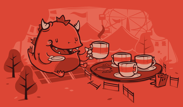 Tea Time by Omnitarian