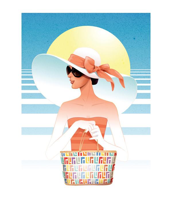 Woman with hat Charlene Chua