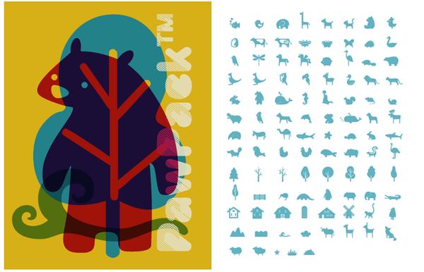 Picture fonts by Supisa Wattanasansanee