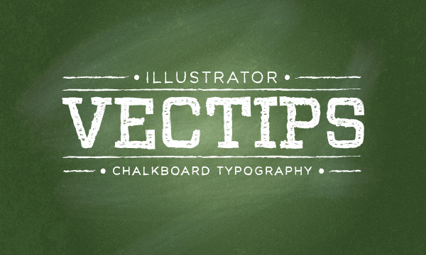 chalkboard text vector