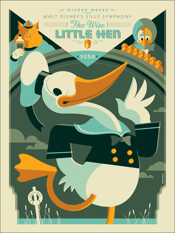 Wise Little Hen by Tom Whalen