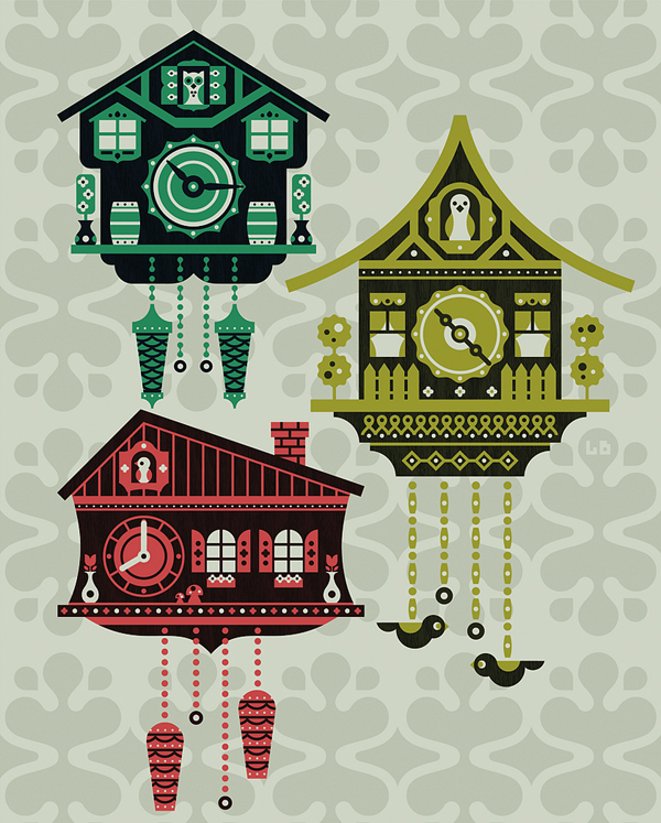 Cuckoo Clock by Luke Bott