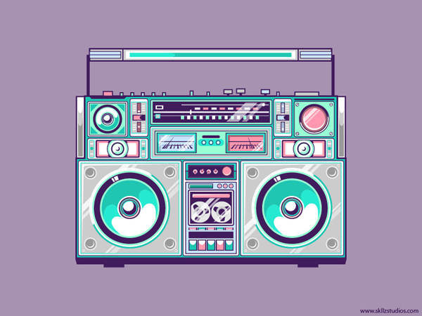 Ghetto Blaster by skllzstudios