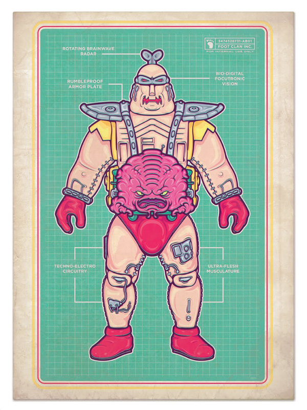 Krang & His Android Body by elSloganero