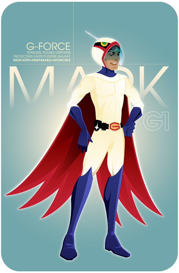 Mark - Battle of The Planets by Neal McCullough
