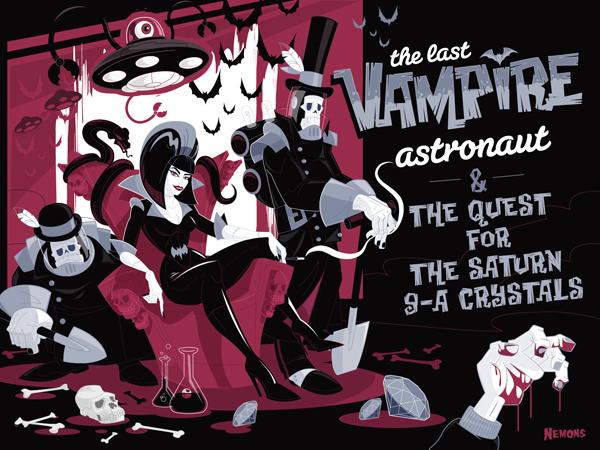 The Last Vampire Astronaut Project Vol 1 by Nemons