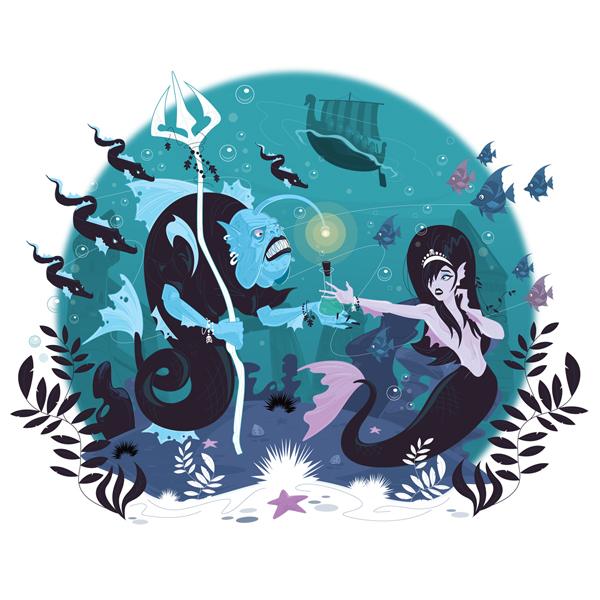 The Little Mermaid by Nemons