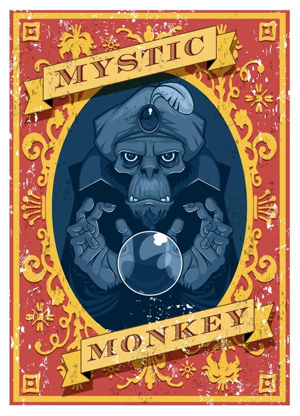 Mystic Monkey by Nemons