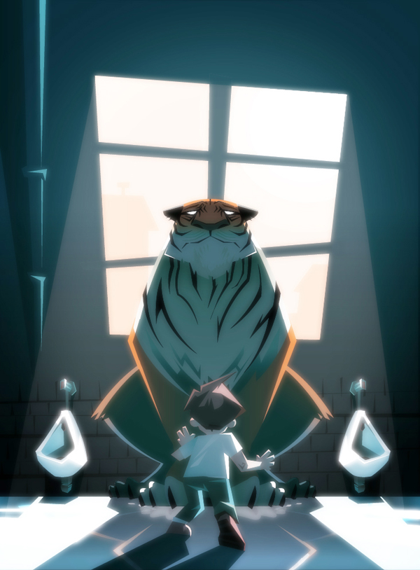 En ce lieu des tigres by Snakieball