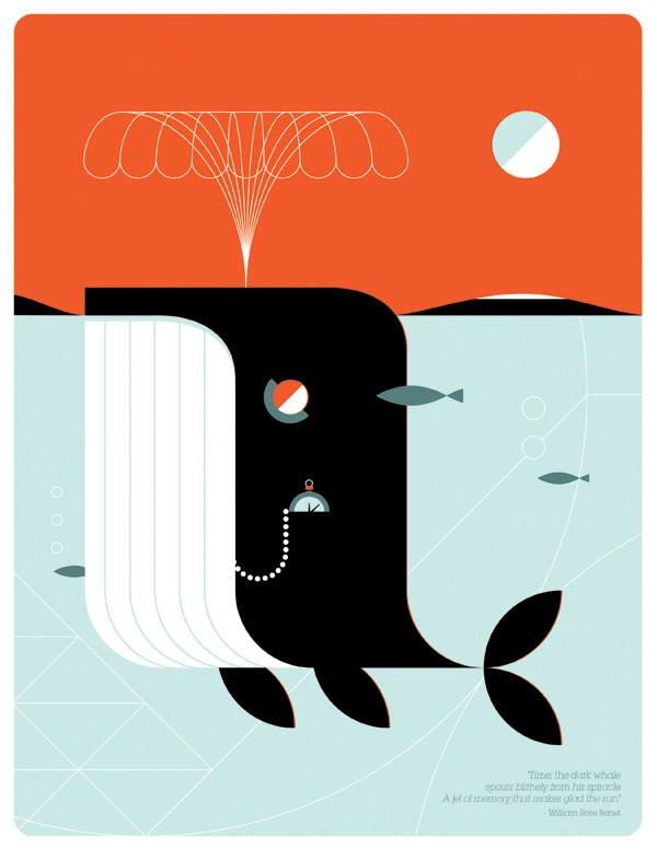 Time The Dark Whale by LouLou & Tummie