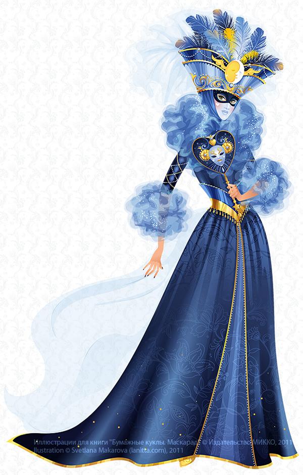 Venice Masquerade Costume by lanitta