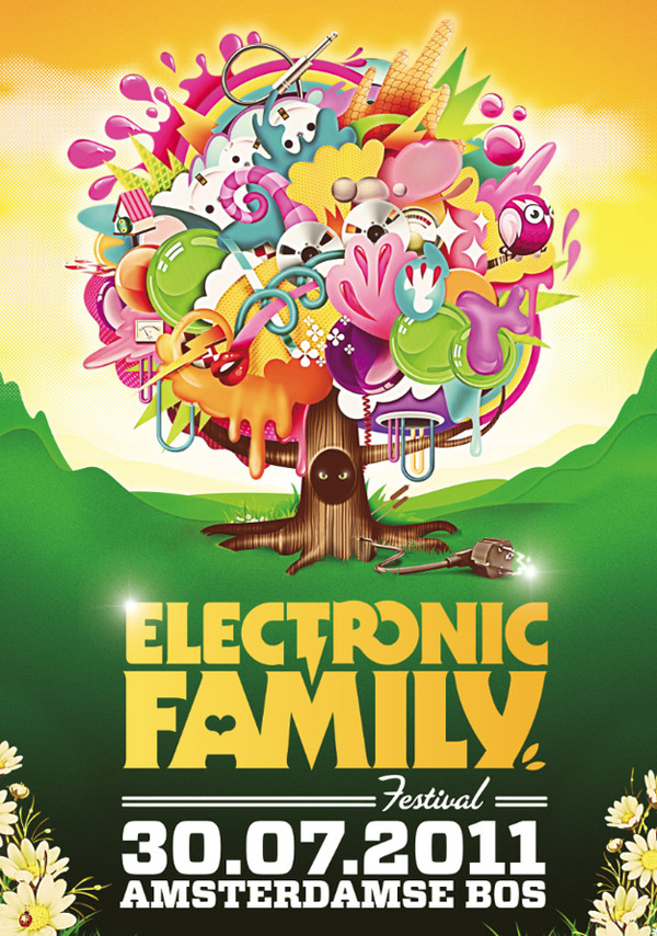 ELECTRONIC FAMILY by Zender and Voutloos