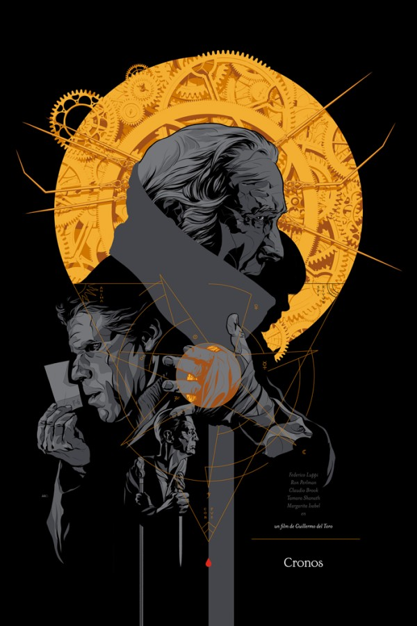 Cronos Poster by Martin Ansin