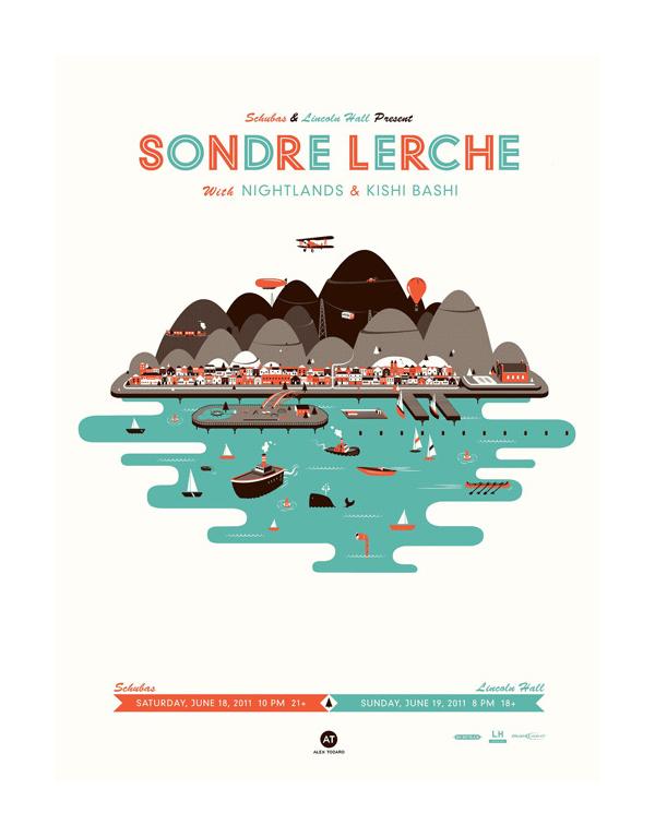 Sondre Lerche Poster by Alex Todaro