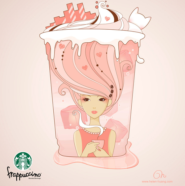 Happiness in a Cup by Helen Huang