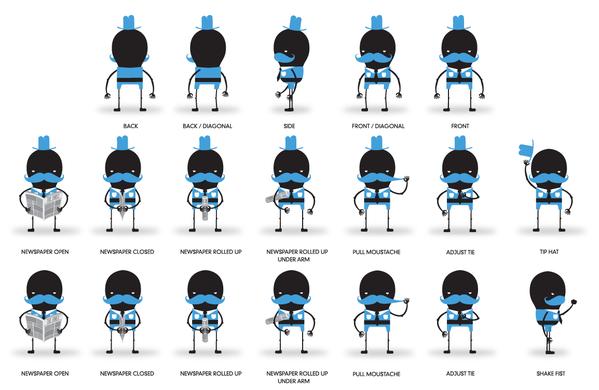 PENNA TCS | ILLUSTRATION + CHARACTER DESIGN by Hylton Warburton