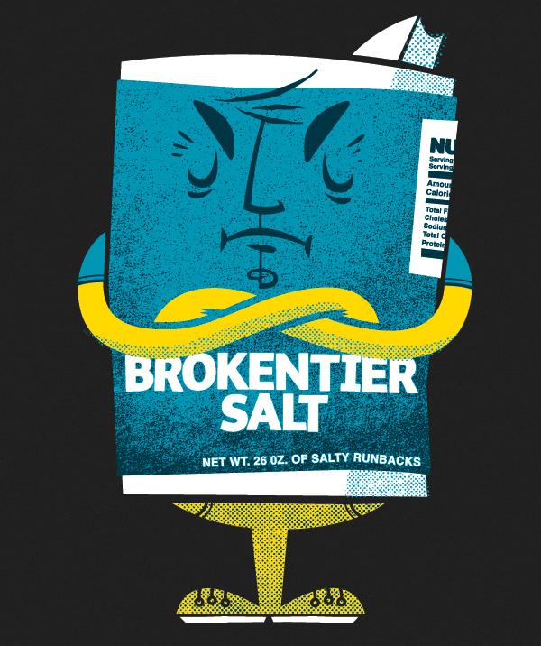 Mister Salty by Chris Sandlin
