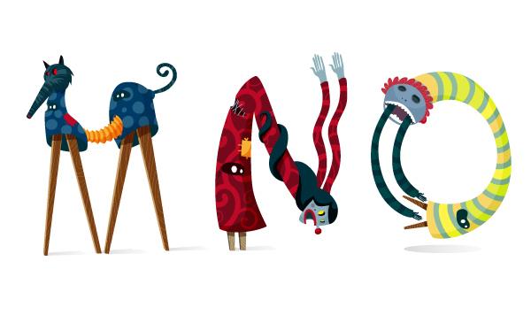 Mascaradas Type by Monfa