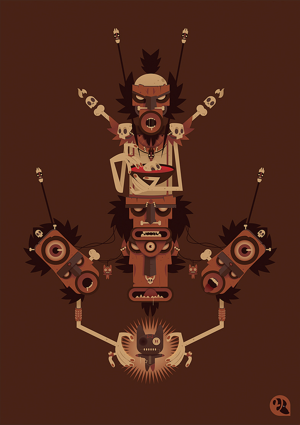 Totems by Vincent Roché