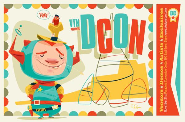 Designer Con Postcard by BrandonRagnar