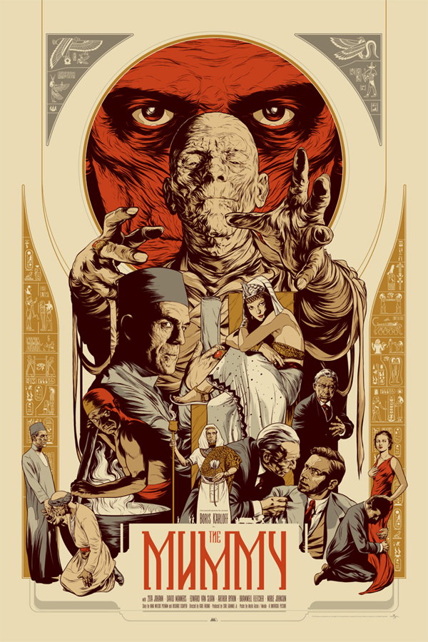 The Mummy by Martin Ansin