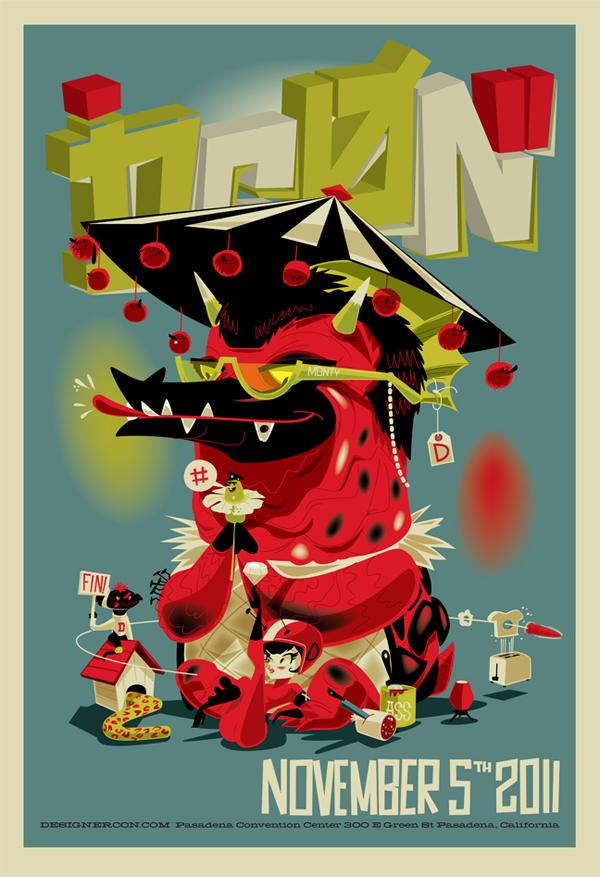 Designer Con Poster 2011 by BrandonRagnar