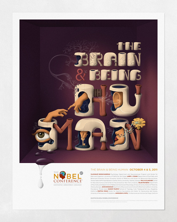 Nobel Conference 47 • Poster by Leandro Lima
