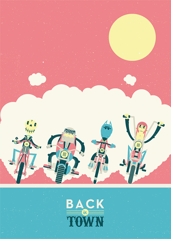Back in town by Josh Hayes
