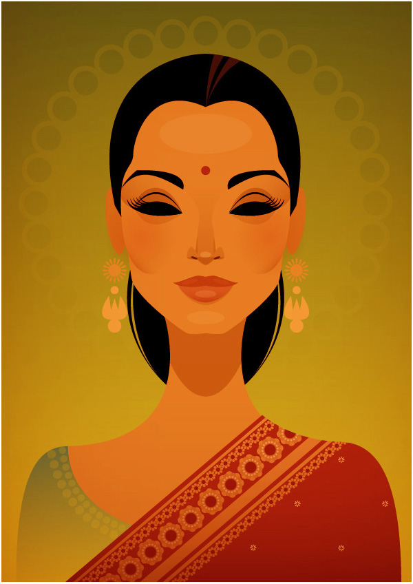 Miss India by Stanley Chow