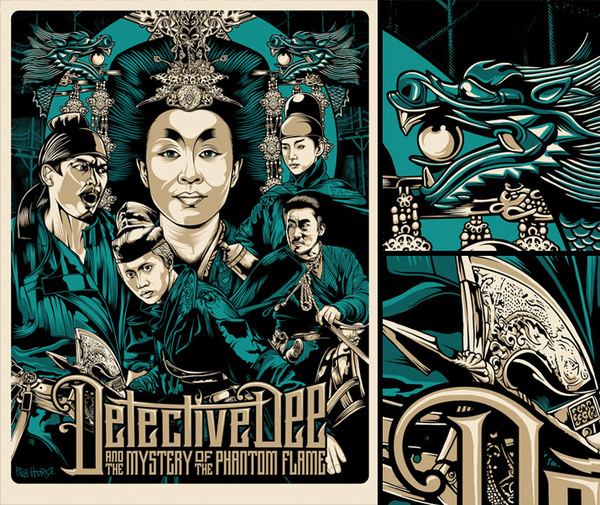 Detective Dee & the Mystery of the Phantom Flame Poster by Pale Horse