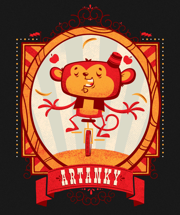 Artanky Monkey by Chris Sandlin