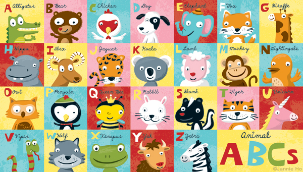 ABCs Series by Jannie Ho