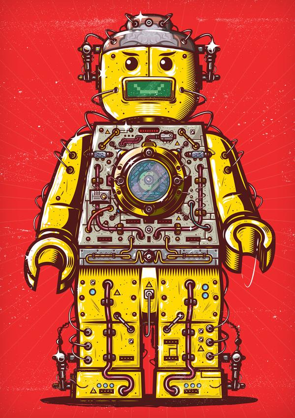 Lego Transformer by Musketon