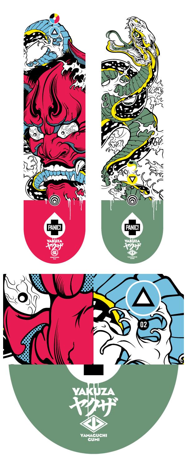 Panic! Yakuza by A1 Design